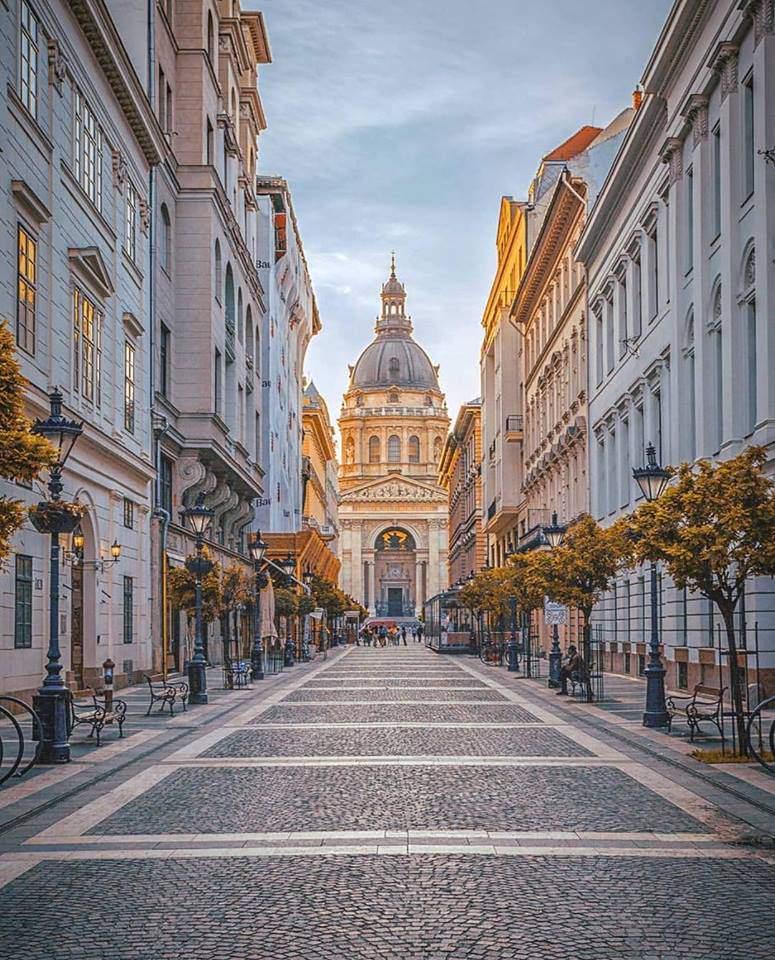building, basilica, budapest