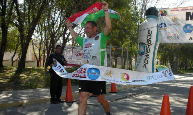 The 53-year-old Hungarian ironman who swam, cycled and ran for 222 hours and won