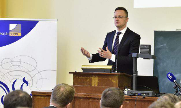 Foreign minister: Hungary needs strong Europe