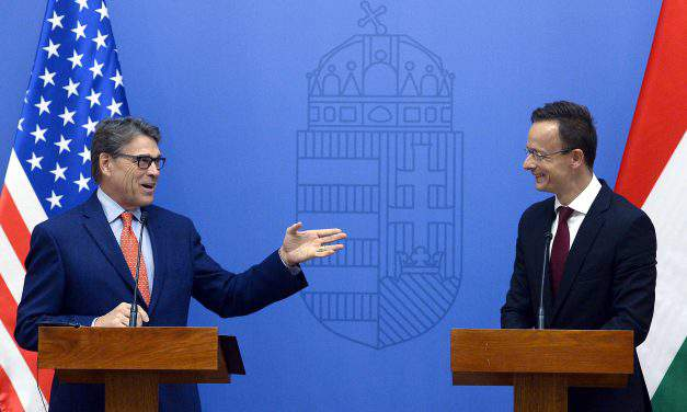 US & Hungary urge diversification of Central Europe's energy supply together