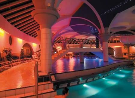 thermal bath, night pools