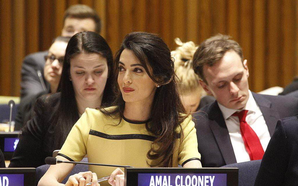 George Clooney's wife has just compared Hungary to North Korea