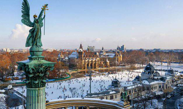 Outdoor sports to enjoy the wintery Budapest