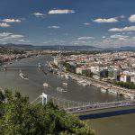 Budapest, Danube, view