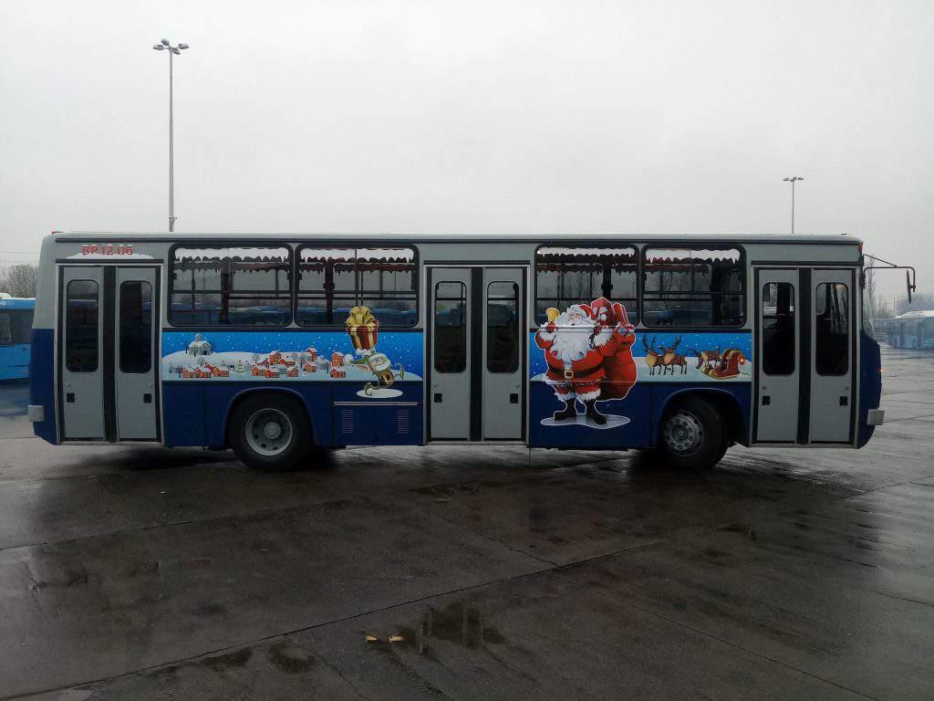 bus, Santa Claus, BKK