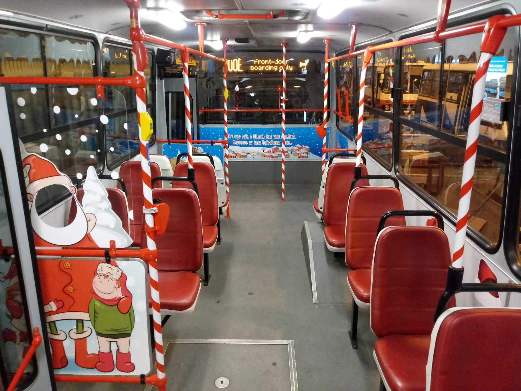 BKK, bus, Santa Claus