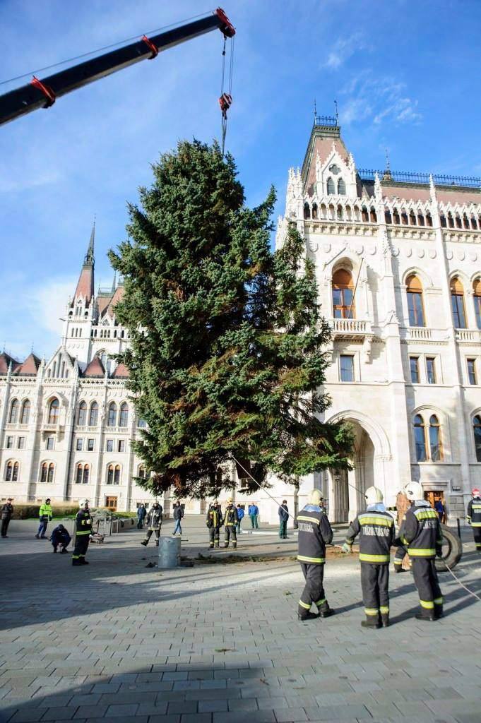 Christmas tree, Kossuth Square