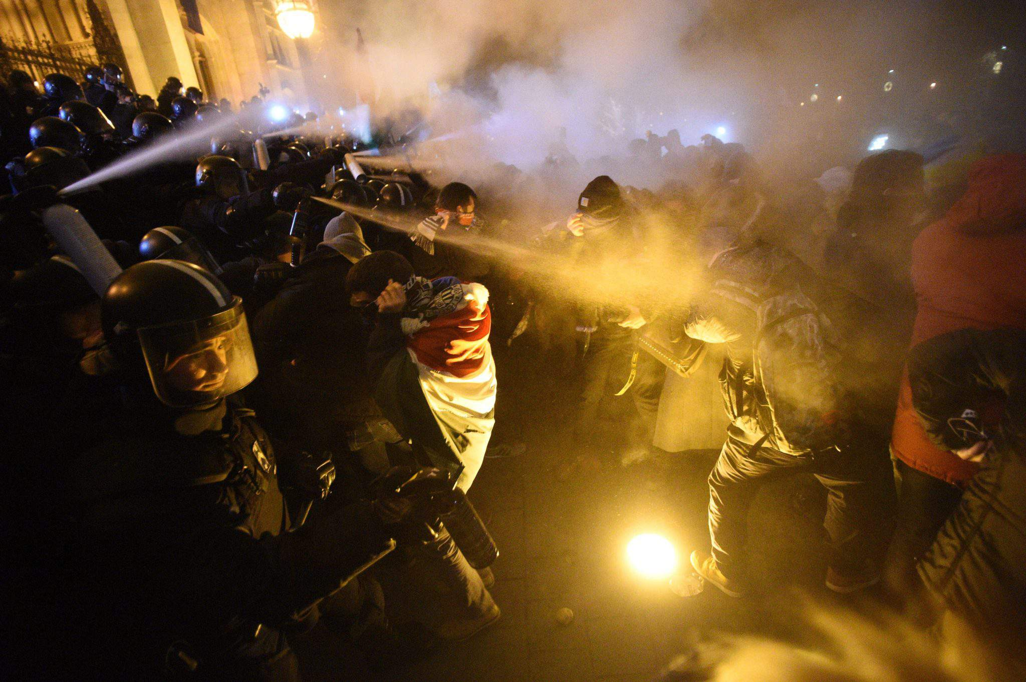 Budapest demonstration
