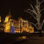 PArliament Hungary Christmas