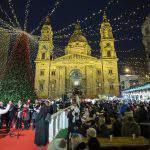 Christmas market Budapest