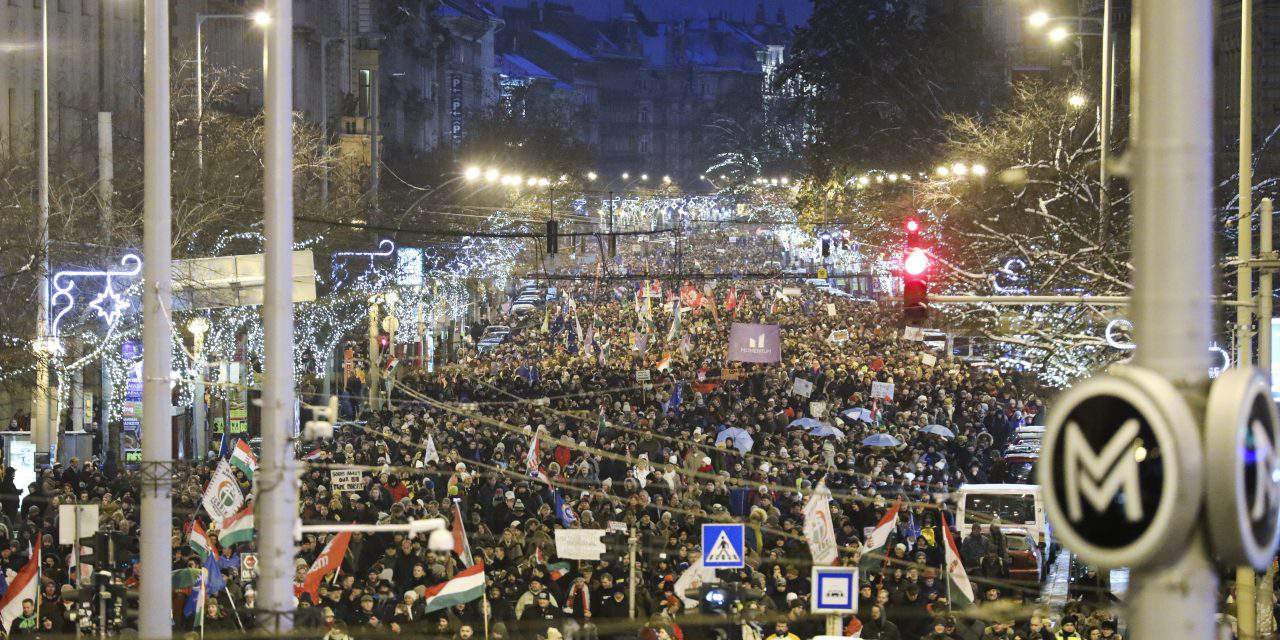 Half of the world talks about the Hungarian anti-government protests