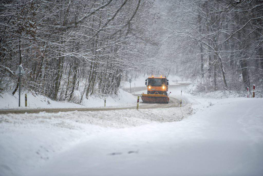 pécs snow