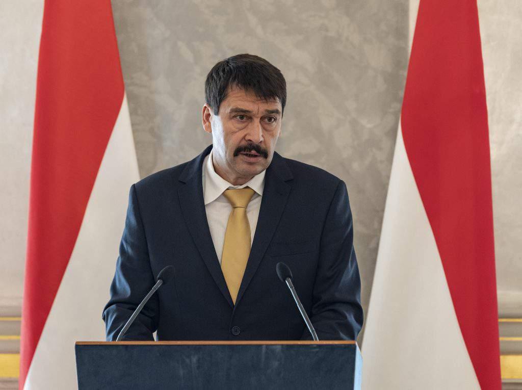 Hungarian president Áder