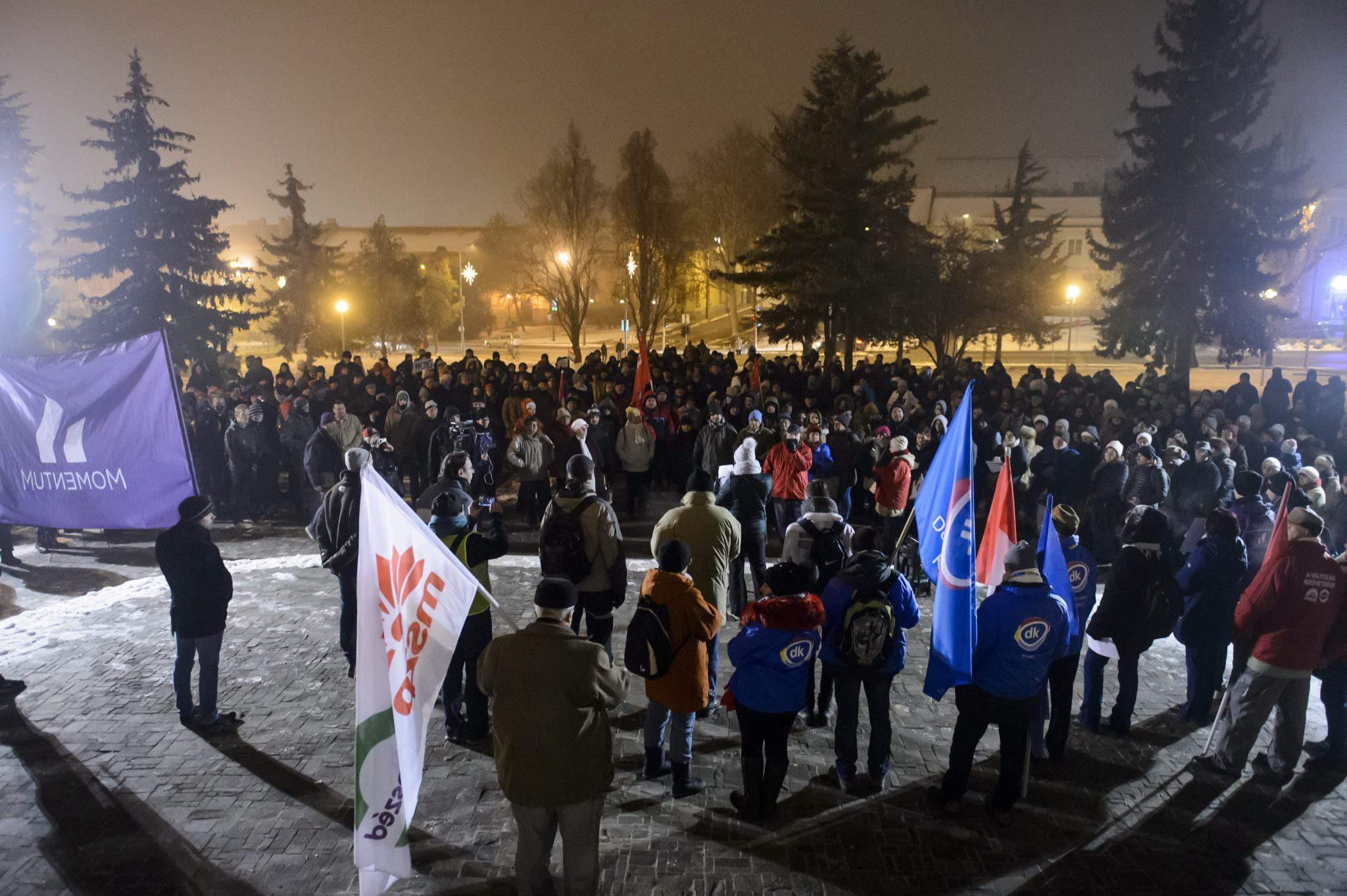 demonstartion Eger Jobbik