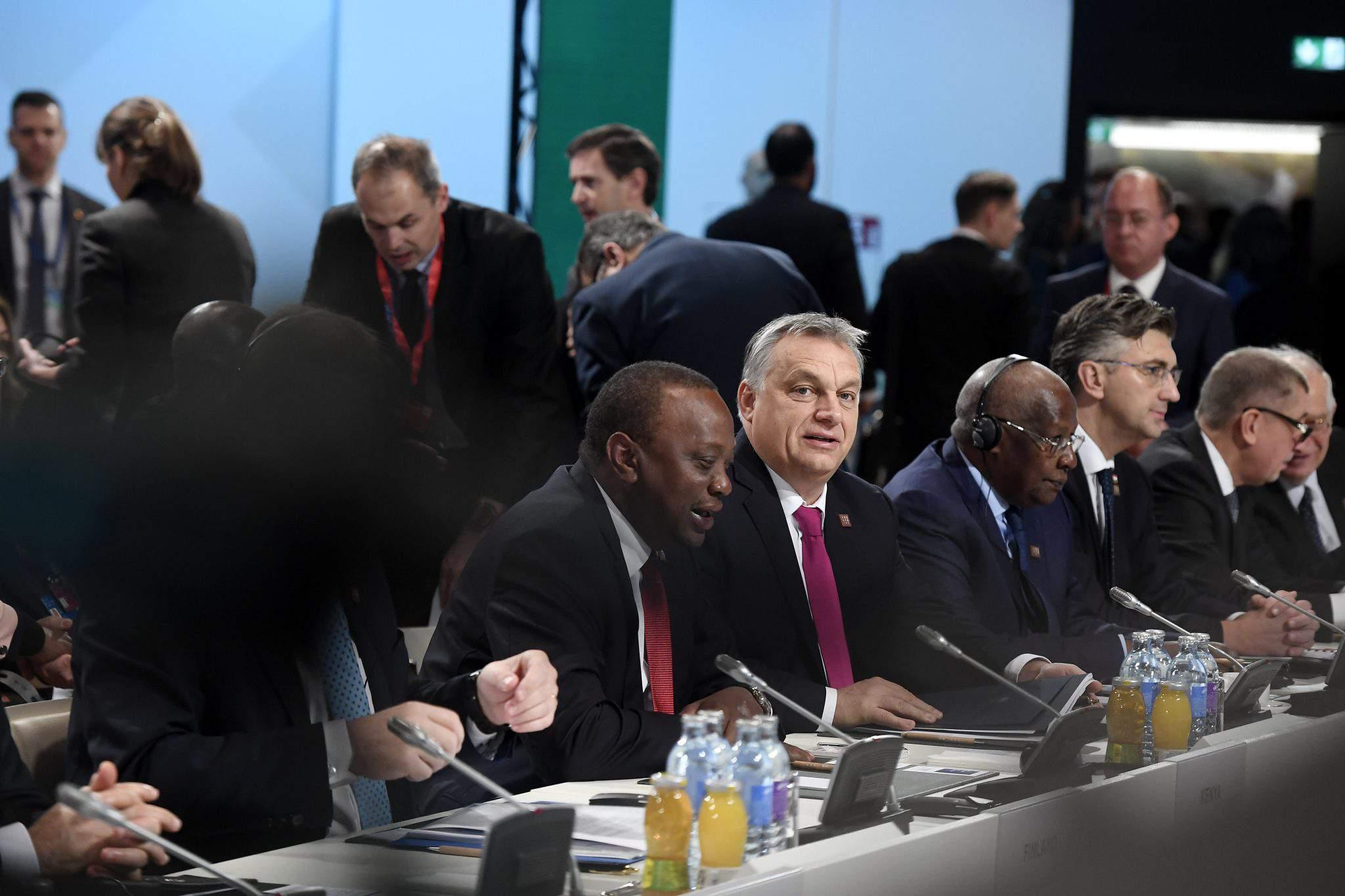 Orbán africa summit