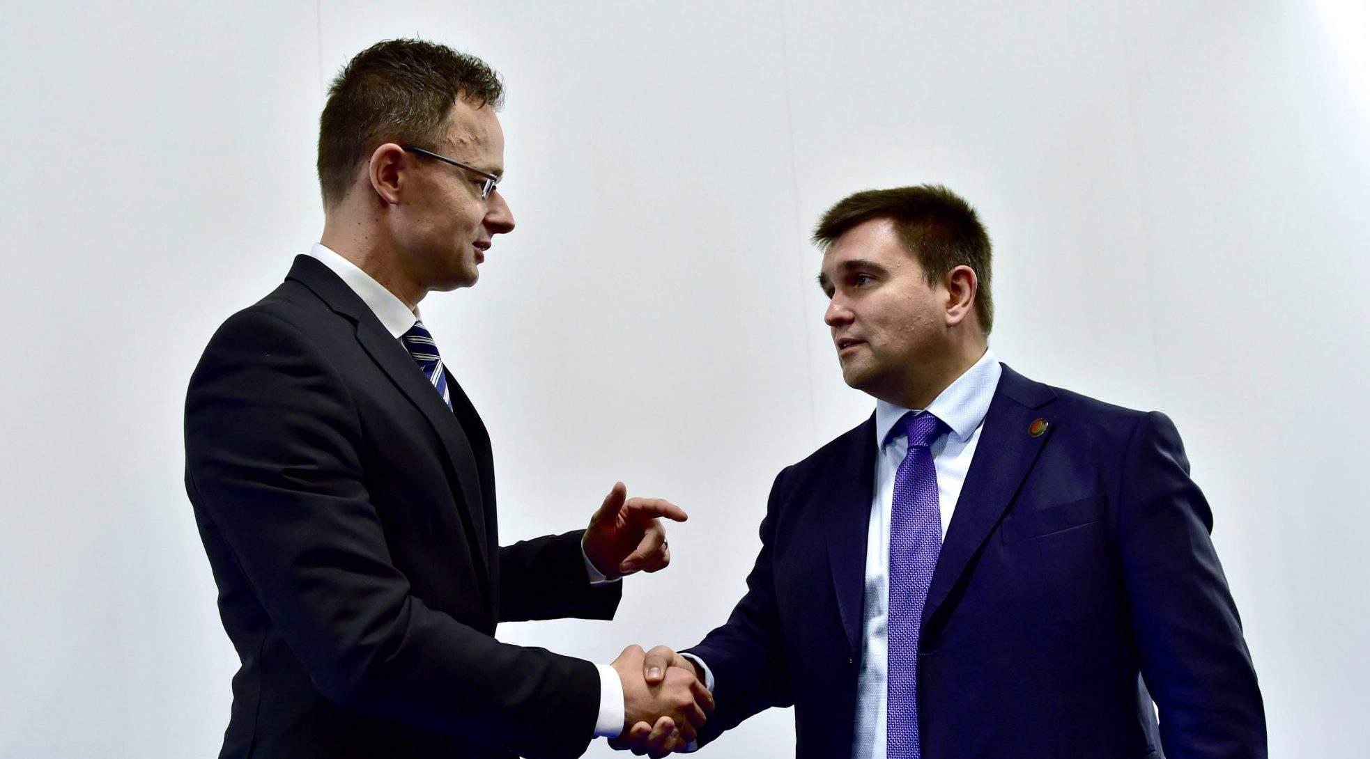 Klimkin Szijjártó