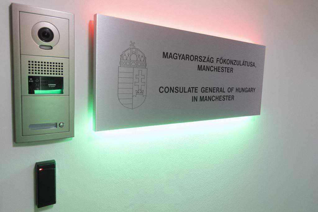 Hungarian Consulate Manchester
