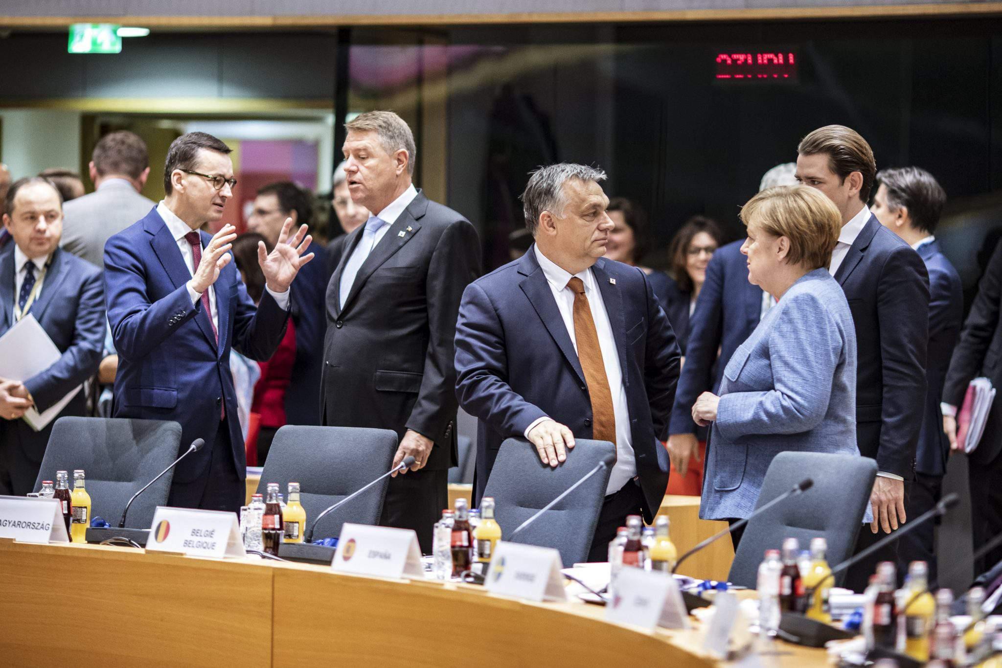Orbán Merkel Brussels