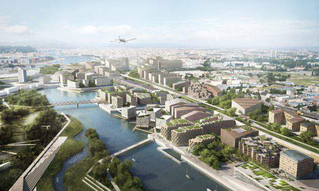 Budapest South Gate urban development competition winners announced! – VISUALS
