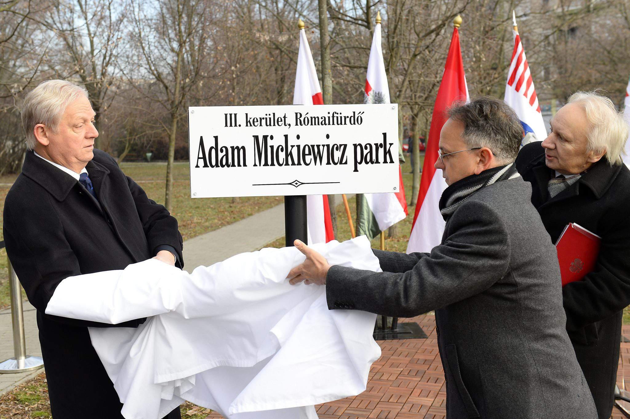 Adam Mickiewicz Budapest