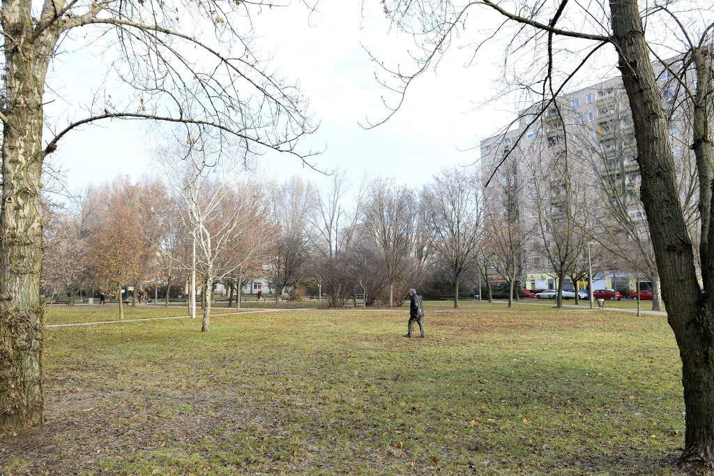 Adam Mickiewicz park Budapest Hungary