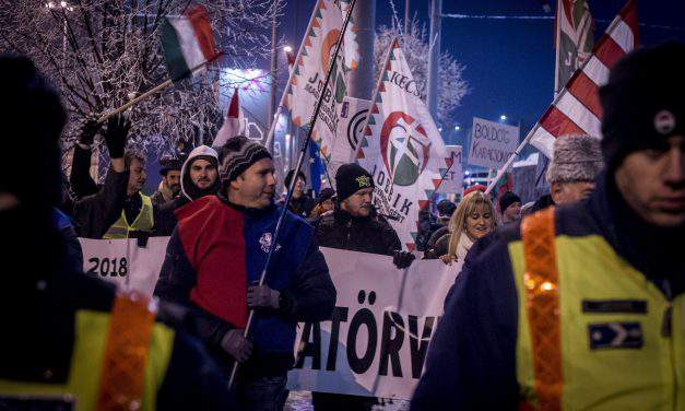 Opposition, trade unions protest against Orbán cabinet in countryside