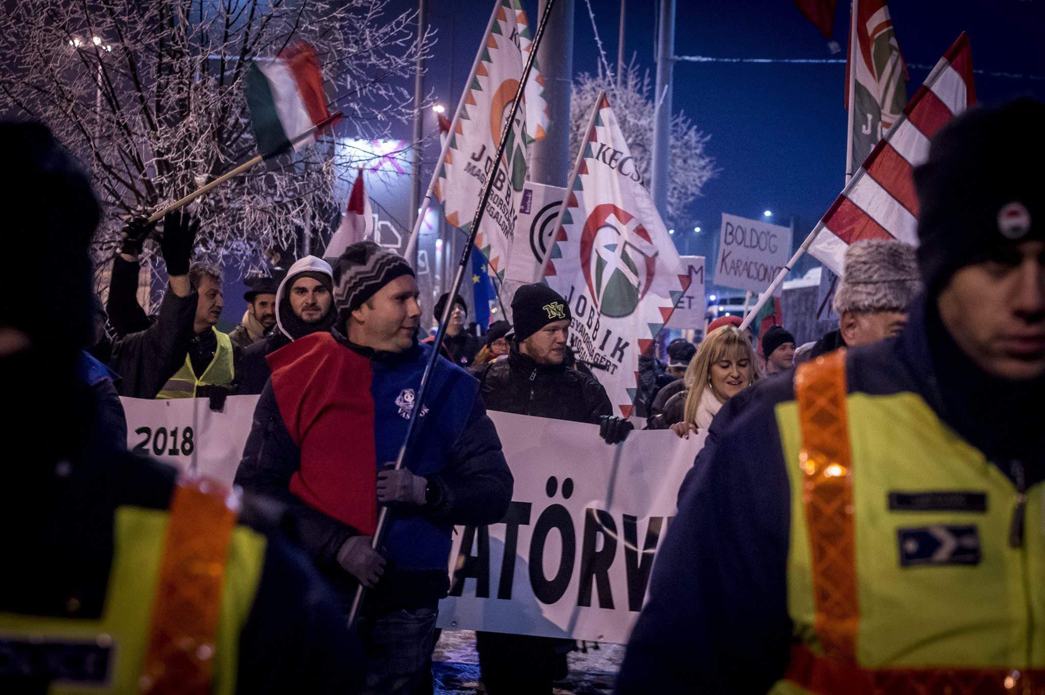 demonstration anti-government Kecskemét