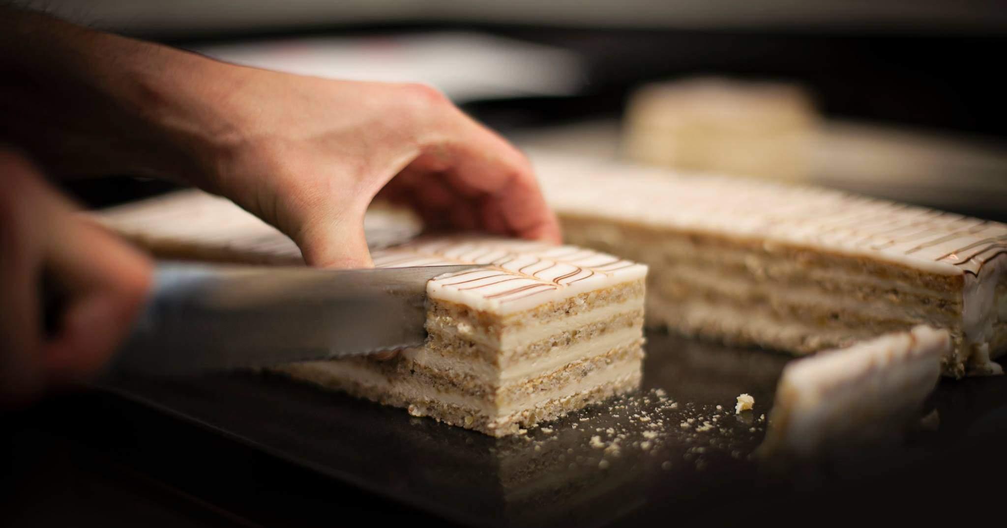 cake, Esterhazy, delicious