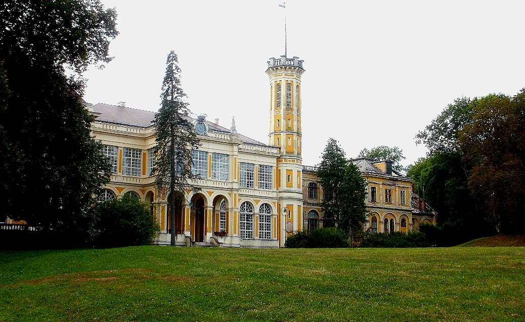 Füzérradvány Károlyi-kastély Károlyi Mansion