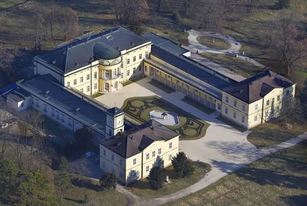 Károlyi Castle at Fehérvárcsurgó