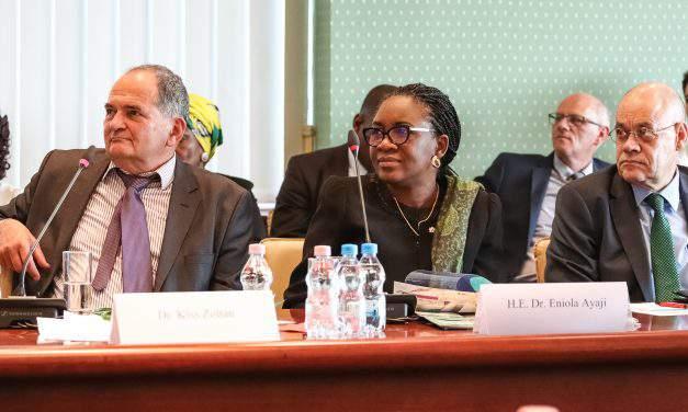 Interview with H.E. Dr. Ms. Eniola Olaitan Ajay, Ambassador of Nigeria