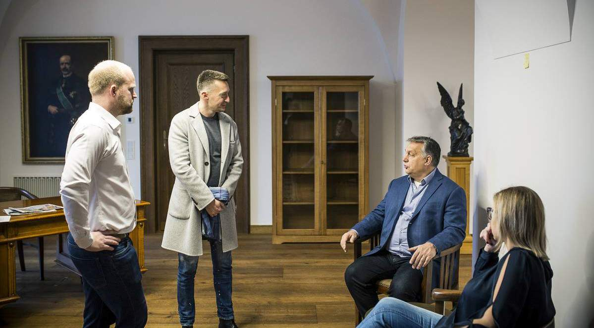 Viktor Orbán, new, office, Karmelita