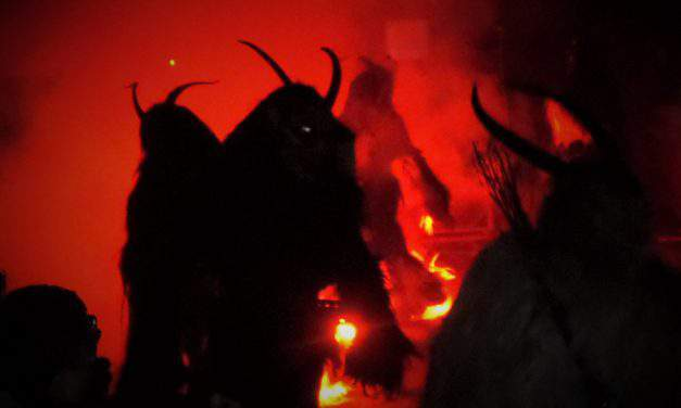 The story of Santa Claus's dreadful sidekick – the Krampus