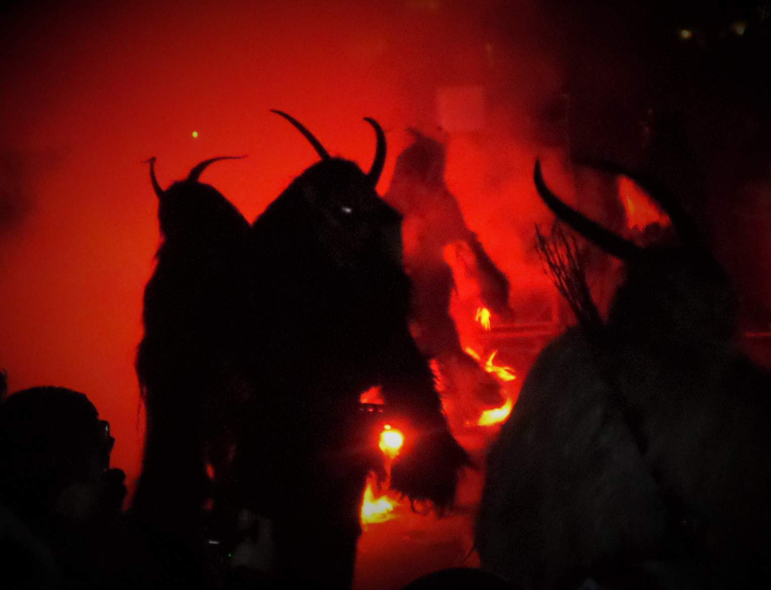 Krampus, Santa, folklore, tradition