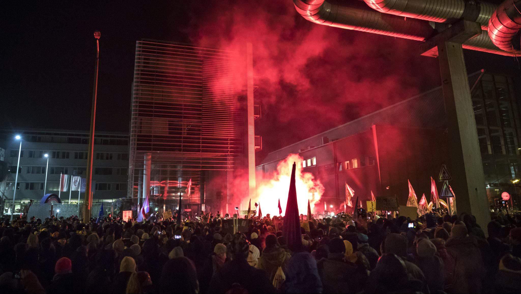 demonstration MTVA