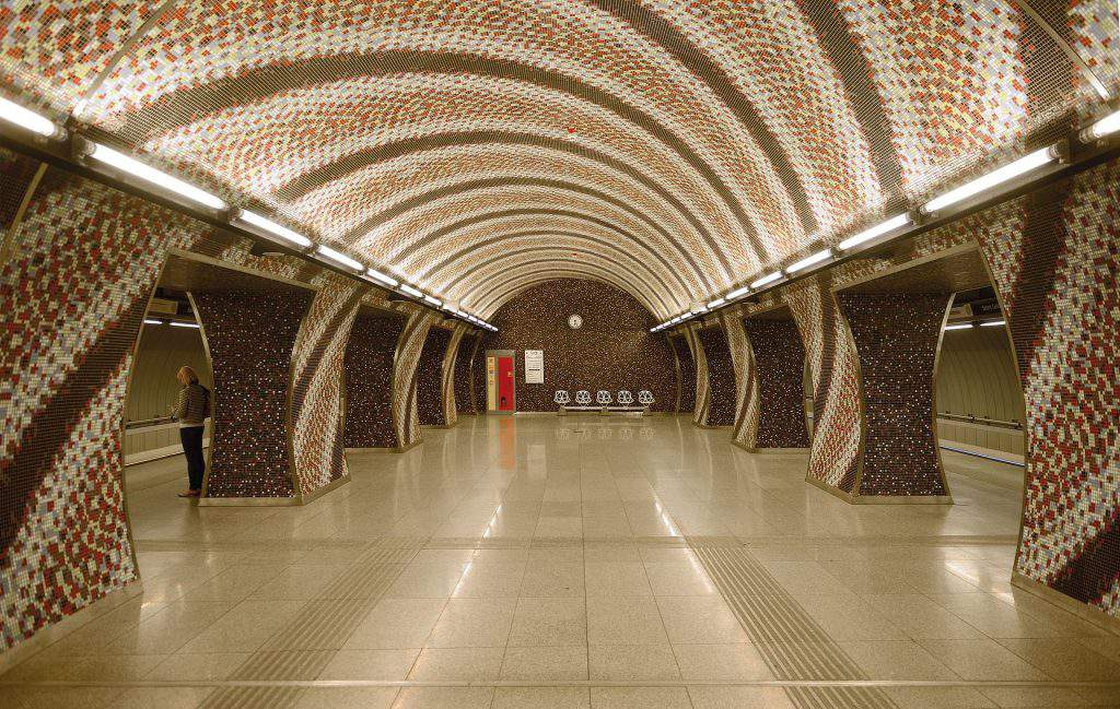 metro 4, station, underground