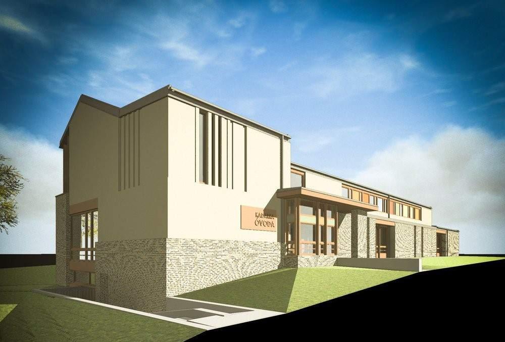 kindergarten, architecture, plan, institution