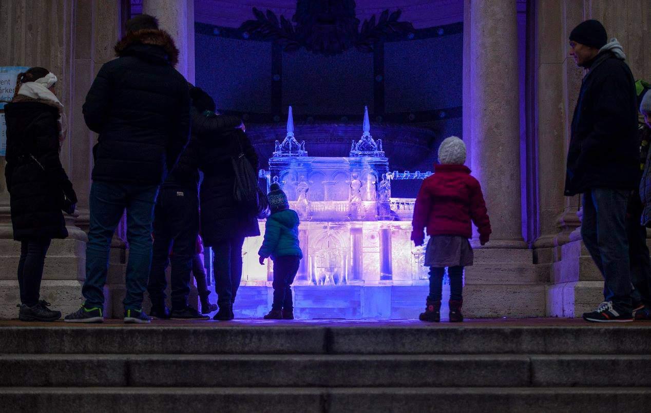 Várkert Bazár, Christmas, Advent