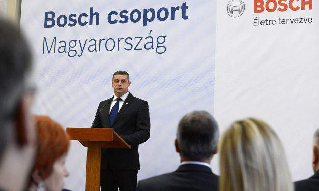 Bosch to upgrade its North Hungarian base