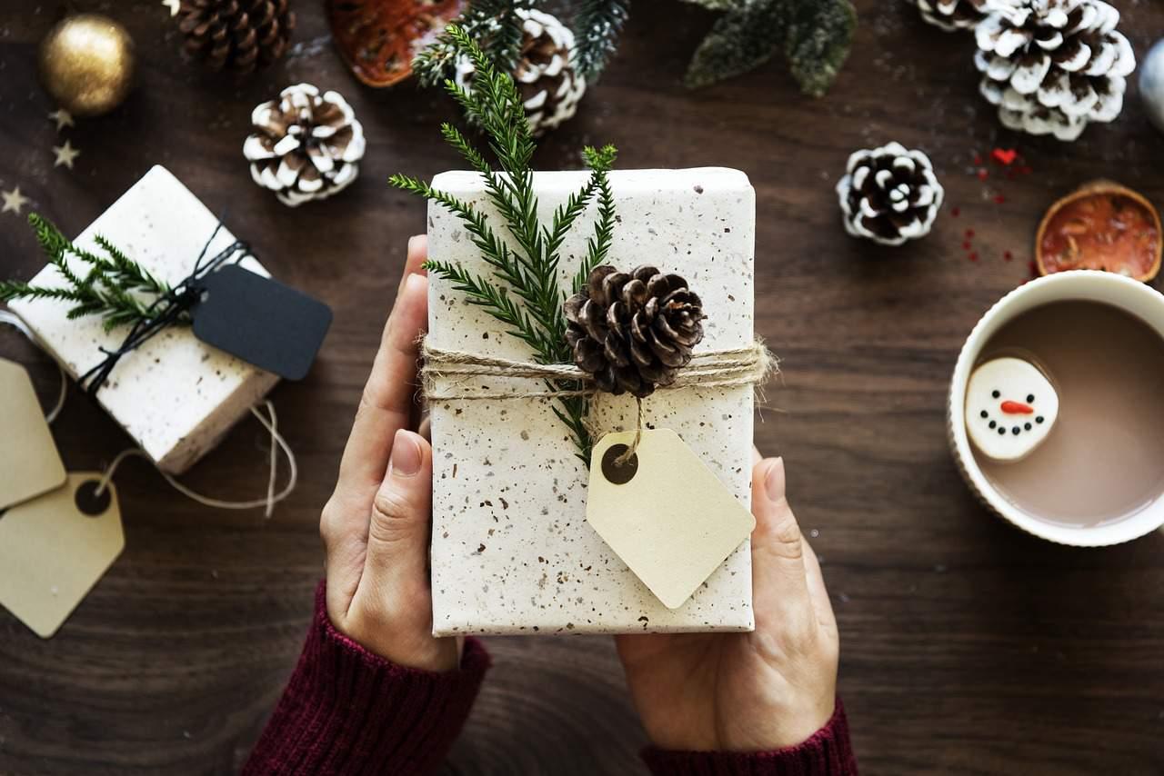 gift, present, christmas, book