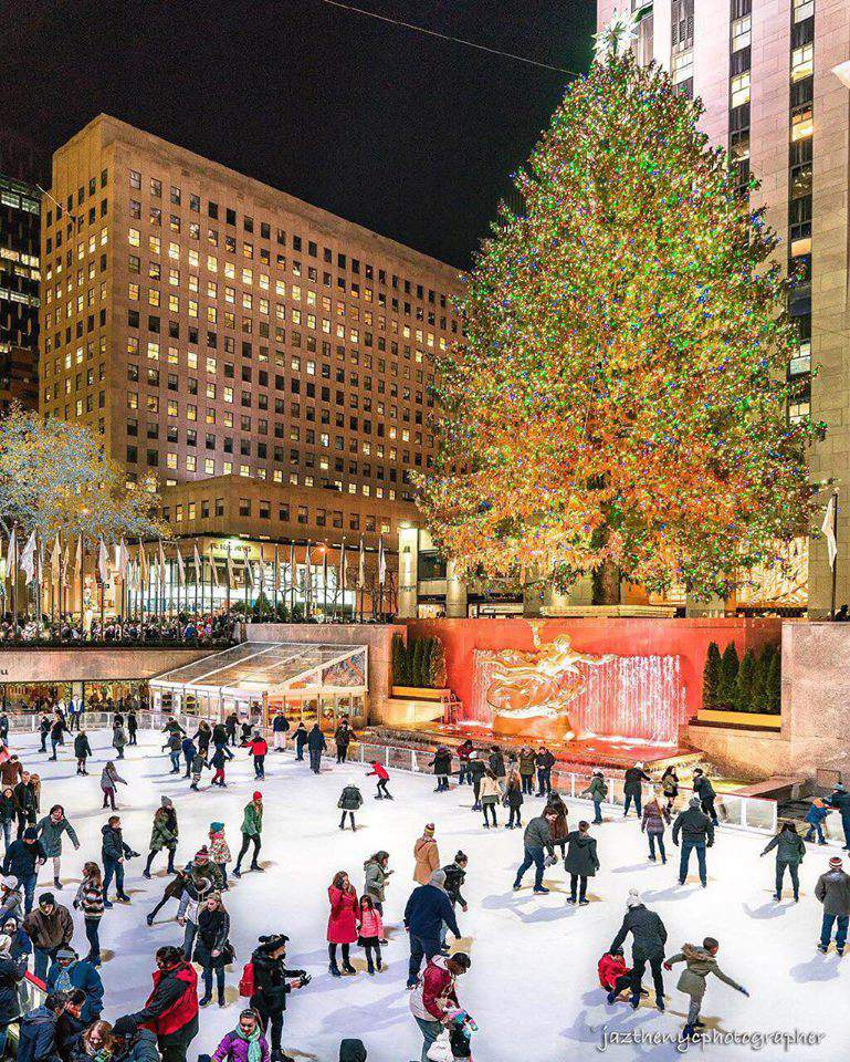 christmas, traditions, new york