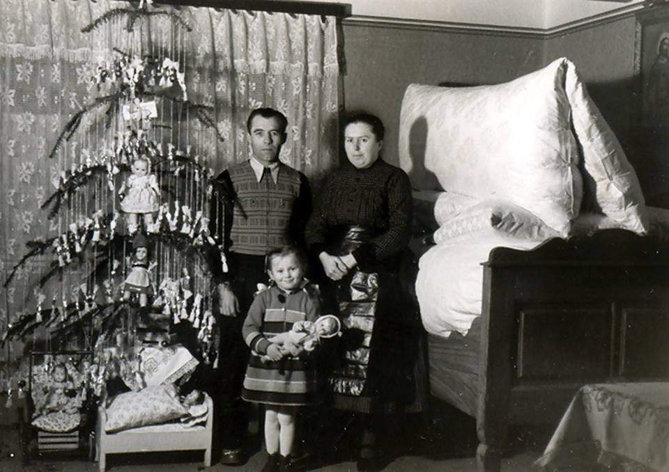christmas, olden days