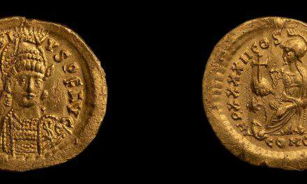 Archaeologists find coin from the age of Huns in Budapest