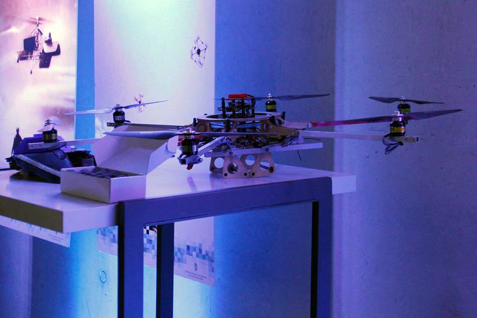drone, show, light