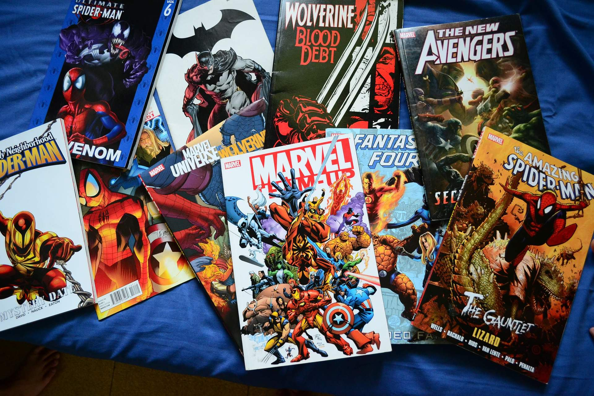 comic, book, Marvel, reading