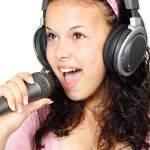 singing, girl