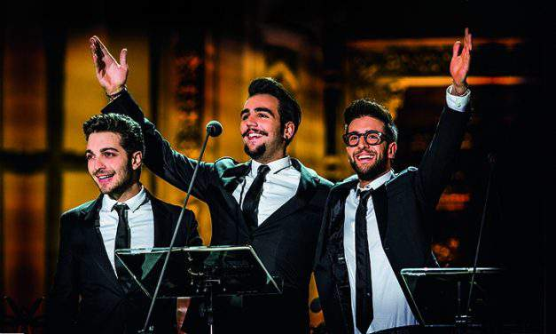 Il Volo's first concert in Budapest – December 10