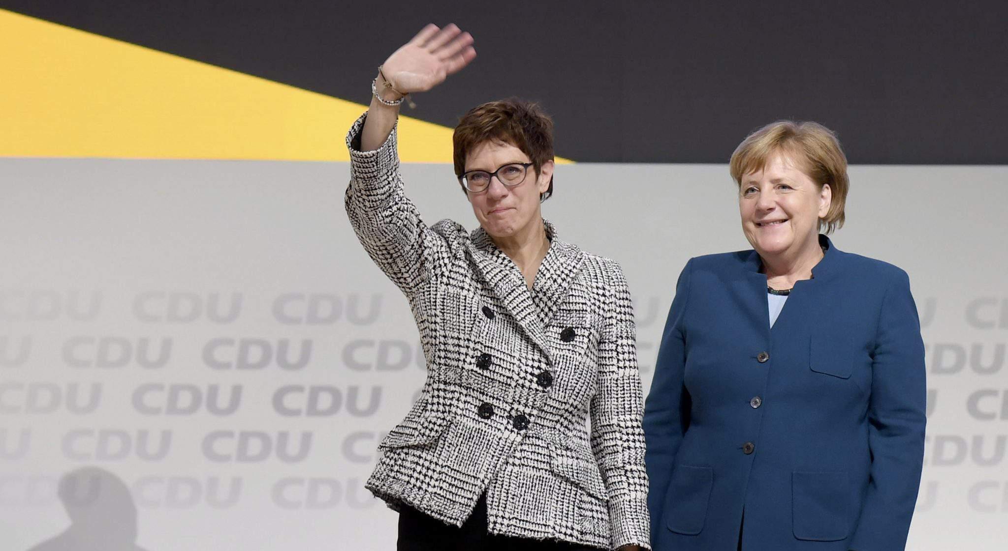 CDU Kramp-Karrenbauer
