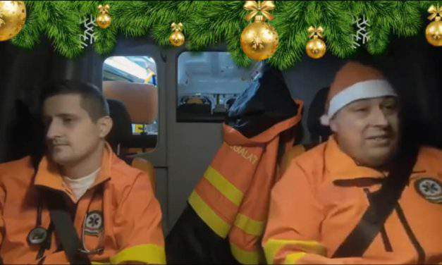Hungarian ambulance men are the coolest! – Funny Christmas video