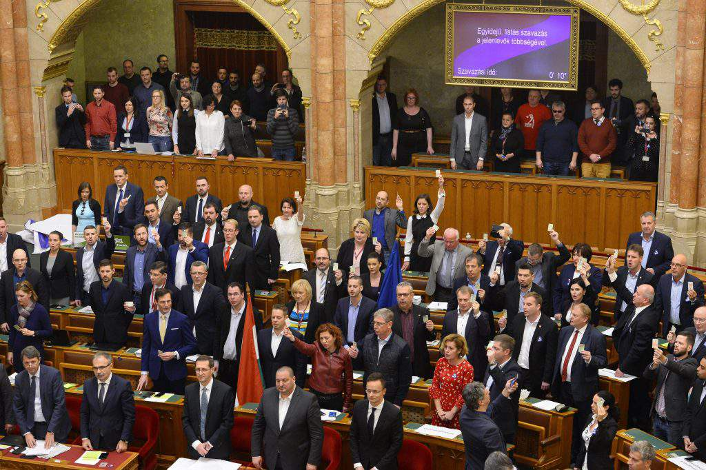 scandal in parliament